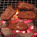 料理メニュー写真牛ハラミの炭火焼