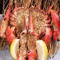 料理メニュー写真オマール海老まるまる1匹使ったオーブン焼き