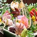 料理メニュー写真日本海のお造り盛り合わせ
