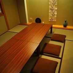 畳の完全個室です。