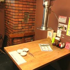 テーブル席4名席×6