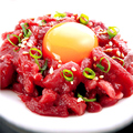 料理メニュー写真【数量限定】特選馬肉!桜肉ユッケ