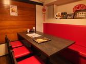 山西亭 刀削麺の雰囲気2