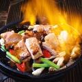 料理メニュー写真タイ風焼き鳥ガイヤーン