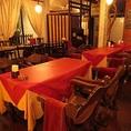 テーブルを繋げて小宴会も◎人数に合わせてお席ご用意できます!