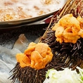 贅沢に生ウニを使用した鍋は絶品です!