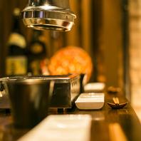 ワインやビール、日本酒・焼酎まで拘りのお酒をご用意!