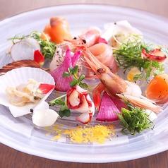 料理メニュー写真海鮮花畑カルパッチョ