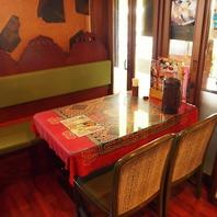 個室空間が楽しめる★テーブルソファ席