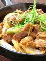 料理メニュー写真豚ハラミ(塩・焼肉風・味噌風)