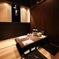 和風の完全個室
