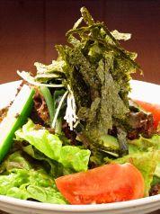 料理メニュー写真イタリアンバジルサラダ【グリーンサラダ】(フルサイズ/ハーフサイズ)