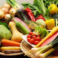 みずみずしく美味しい旬野菜が食べたいなら六道へ