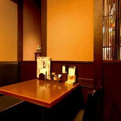 2名様のテーブルのお席