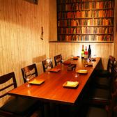 【8名様までのテーブル個室】普段使いに丁度いい8名様個室。会社宴会、女子会などに。