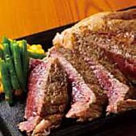150gから450gまで、心ゆくまでステーキをお楽しみ下さい