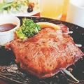 料理メニュー写真US産ビーフステーキ