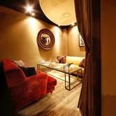 3~5名様までOKのふかふかソファー個室。デートや合コンにもぴったりです。人気のお席ですのでお早目のご予約を♪