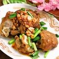 料理メニュー写真焼き豚足