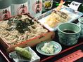 自慢の天ぷらとともに、午後の活力に!