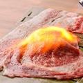 料理メニュー写真炙り肉寿司(一貫)