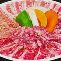 料理メニュー写真【カルビ盛合せBIG420 】 (国産牛&厳選鶏豚・お肉420g) 2~3名様向け