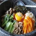 料理メニュー写真お好みお肉の石焼丼ぶり(トッピングお肉:中落ちカルビ/ハラミ/豚バラから選択)