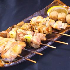 おまかせ串焼き6本盛り