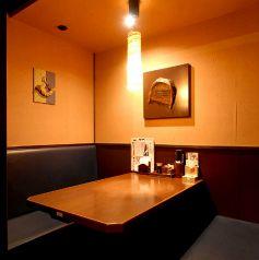 6名様のテーブルのお席