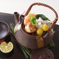 料理メニュー写真(季節限定)松茸土瓶蒸し