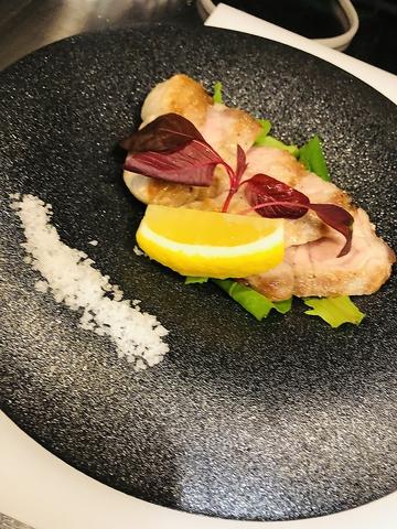 岐阜県瑞浪産ボーノポークのステーキ