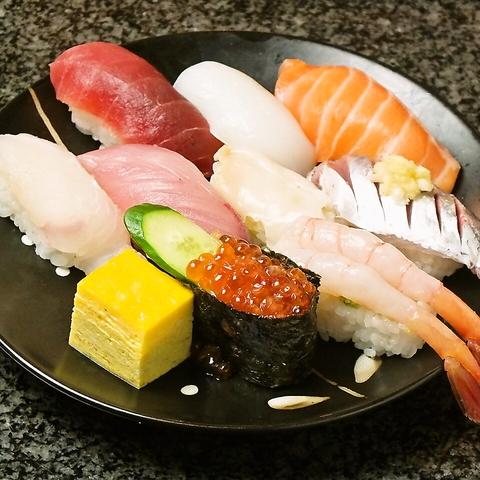 【回転寿司 魚浜】ランチ握り始めました!!!