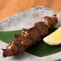 料理メニュー写真【徳島県産】阿波尾鶏 白レバー串