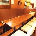 12名様までお座りいただける席です。