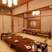 25名様用の完全個室です。 蒲田 居酒屋 3時間 宴会 接待 飲み会 飲み放題 個室 しゃぶしゃぶ もつ鍋 食べ放題 完全個室 貸切