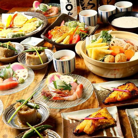 茨城自慢の蓮根料理!宴会コースも充実★各種ご宴会に♪