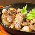 料理メニュー写真まぐろホホ肉のステーキ