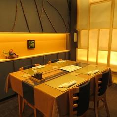 【テーブルございます】4名様テーブルが3つございます。テーブルをくっつけて、6名様~12名様までご利用いただけます。