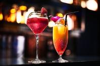 食後の軽く1杯でも大歓迎旬のフルーツカクテルが人気