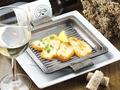 料理メニュー写真ハルミチーズの鉄板焼き