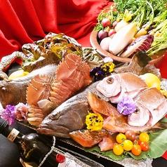 """料理メニュー写真~日本最西端漁港""""平戸漁港""""から届いた本日の鮮魚を使って~"""