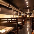 全240席の広々とした空間は、く開放感抜群!美味しい焼肉を囲んで、楽しく素敵なひとときをお過ごしください♪【1F】テーブル席 【2F】お座敷