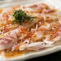 料理メニュー写真真鯛のカルパッチョ