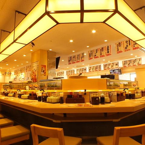 定番の握り寿司から刺身、天ぷらまで、リーズナブルなお値段でご提供