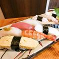 旬の鮮魚をお楽しみいただけます。その日のおすすめはお気軽にスタッフまでお伺いください。