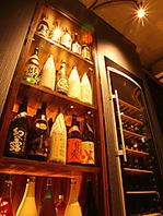 日本酒・焼酎・ワインなどお酒にもこだわりあり◎