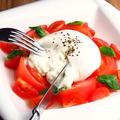 料理メニュー写真ブッラータチーズ