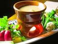 地元産や自家栽培の、新鮮で美味しいお野菜を活かしたお料理をご用意しております。