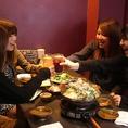 和牛もつ鍋は肉厚でコラーゲンたっぷり♪女子会も圭助の個室で!