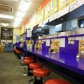 カウンター席が充実しており、お一人様での来店も歓迎。